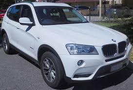 "BMW X3 ""F25"" phase 1"